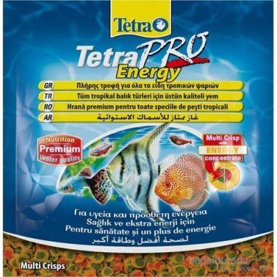 Tetra - Tetra Pro Energy Crisps 12 Gr Balık Yemi