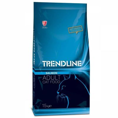 Trendline - Trendline Somonlu Kedi Maması 15 kg