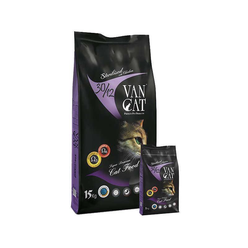 VanCat Kısırlaştırılmış Kedi Maması 15 KG