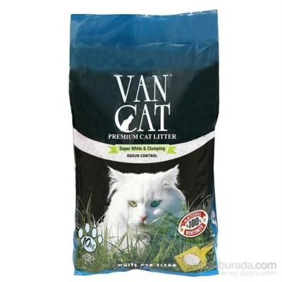 Vancat - Vancat Quardo Kokulu İnce Taneli Kedi Kumu 10 Kg