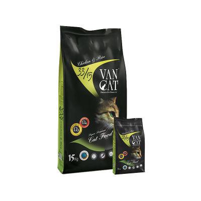 Vancat - VanCat Tavuklu Pirinçli Yetişkin Kedi Maması 15 KG